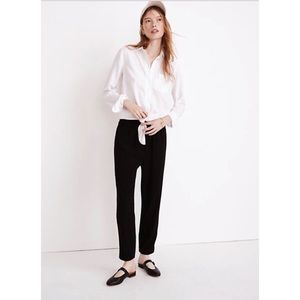 Madewell Cuffed Track Trousers Size Small